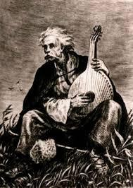 Ukrainian bandura player's song of sorrow