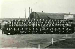 Ukrainian prisoners of war, Camp 231, Redgrave Park, England, processing camp, WW II