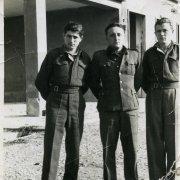 Serhij Sochocky with Polish soldiers, World War Two
